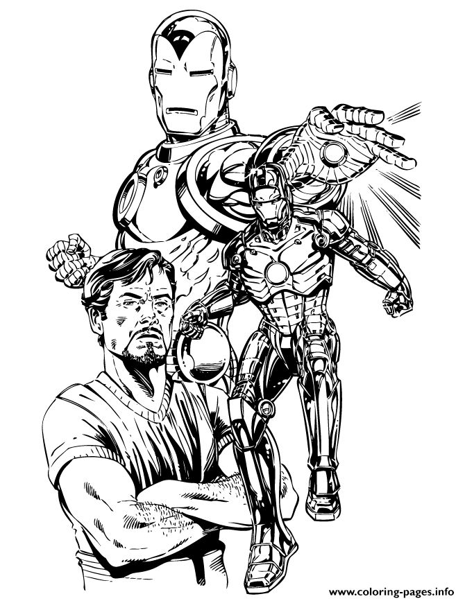 10 Best How To Draw Iron Man Images On Pinterest
