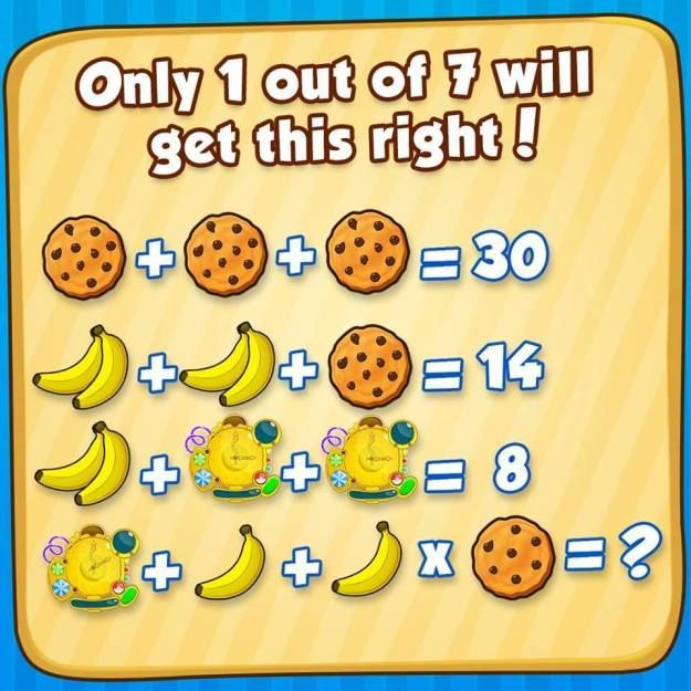 Cookie Banana Clock Puzzle With Images Maths Puzzles