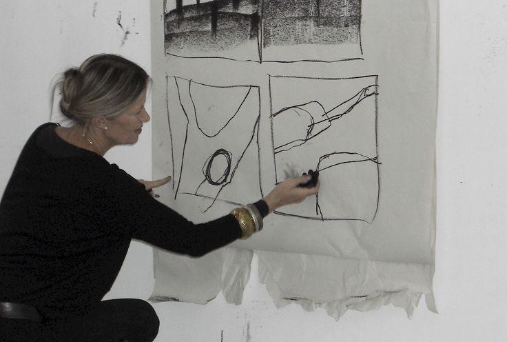 Art - Kompositionsplanung  daily art projekt  Pinterest  Abstrakte, Malerei und abstrakte Kunst