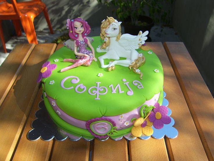Mia and me — Children's Birthday Cakes