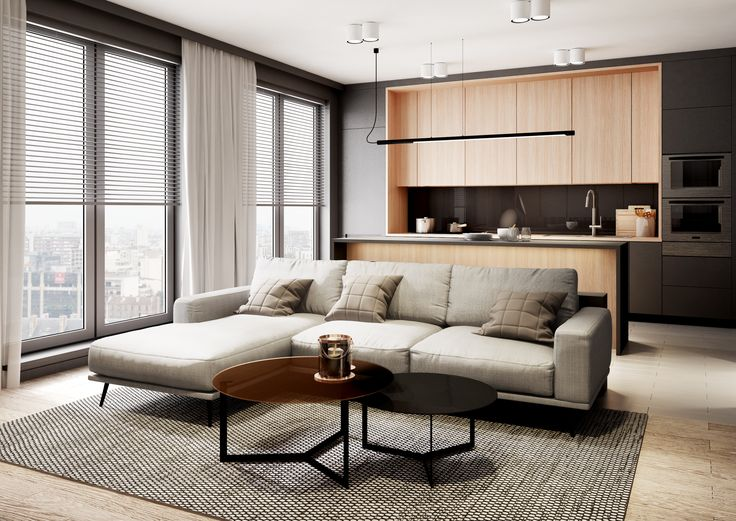 Minimalist apartment in Warsaw by mezzo studio