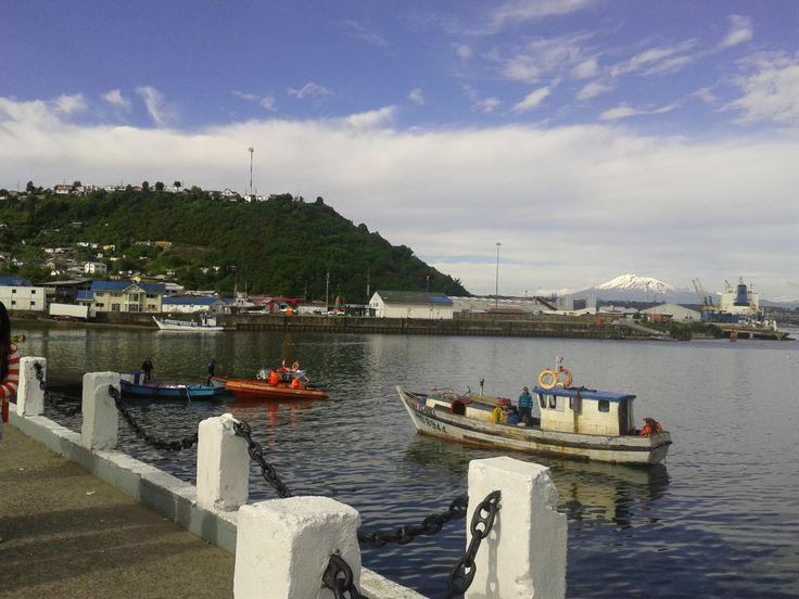 Angelmó, Puerto Montt, Región de los Lagos, Chile