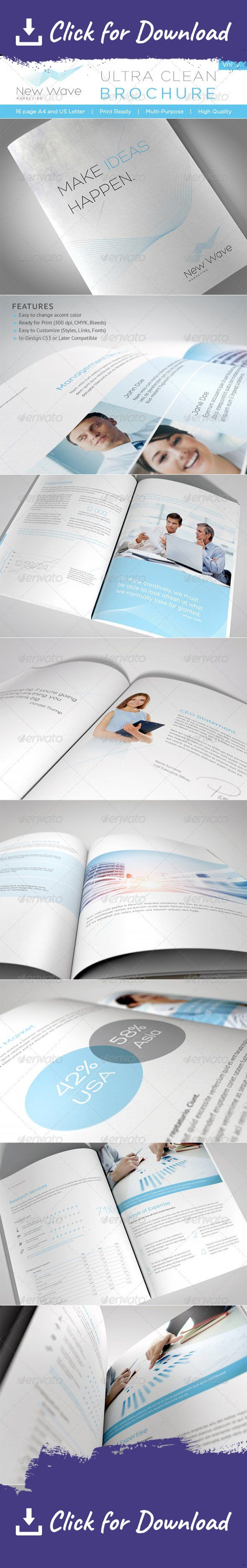 a4, blue, booklet, brochure, business, clean, conceptual, corporate, customize, designer, easy, flexible, identity, indesign template, letter, light, lines, logo, minimal, modern, PDF file, print, print ready, professional, simple, stylish, template, ultra clean, white    	   	This is a 16 page professional In-Design brochure perfect for corporate business that needs clean, professional, modern brochure template design.   	Easy to edit, you can change blue accent color throughout the whole…