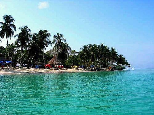 Baru island beachs