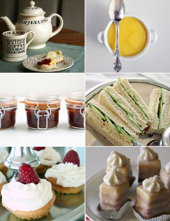 Holiday Party Menu: High Tea