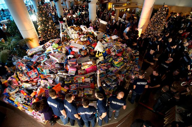 Pan Pacific Christmas Wish Donation/Toy Drive