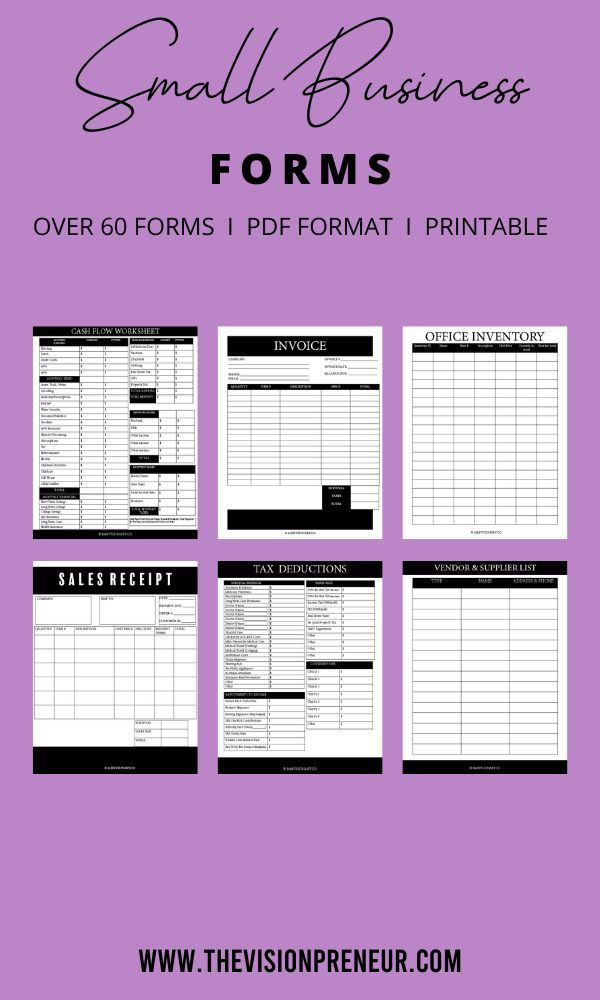 Small Business Kit Home Business Planner Easy Business Planner Business Tracker Business Planner Income Expenses Sales Receipt Forms Small Business Planner Business Planner Business Tracker