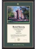Marshall University Prestige Bachelor Diploma Frame w/Photo