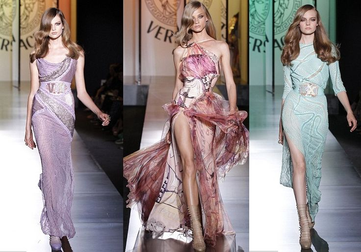 Haute couture maxi dresses
