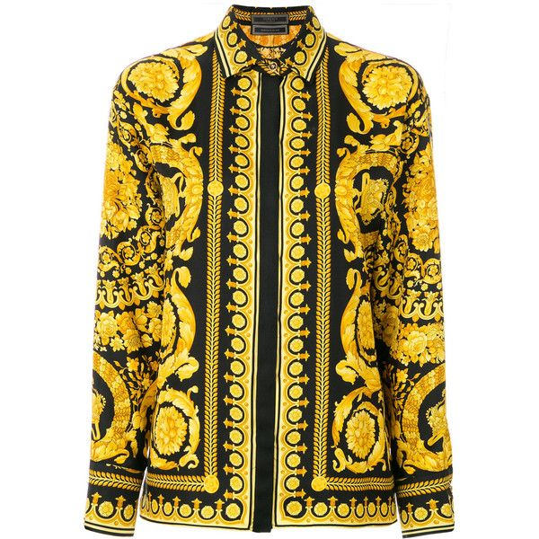 buscar oficial los Angeles rendimiento confiable Versace baroque print shirt (2 115 BGN) ❤ liked on Polyvore ...