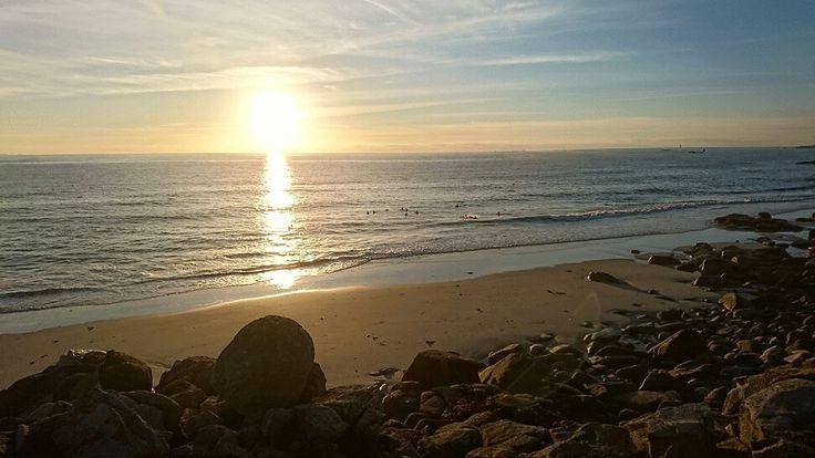 Coucher de soleil du 5 juillet 2016 Enfin, l'été est là !