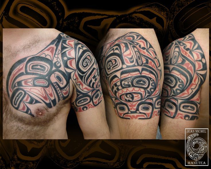 Haida tattoos on Pinterest | Haida Tattoo, Haida Art and Salmon Tattoo