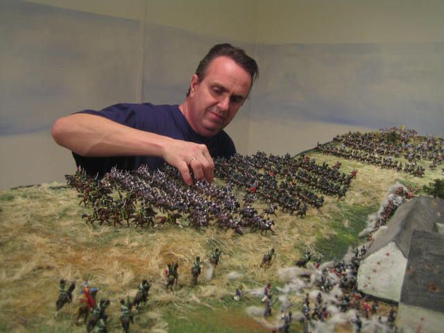 hand painted miniature soldiers, for battlefield or collectors