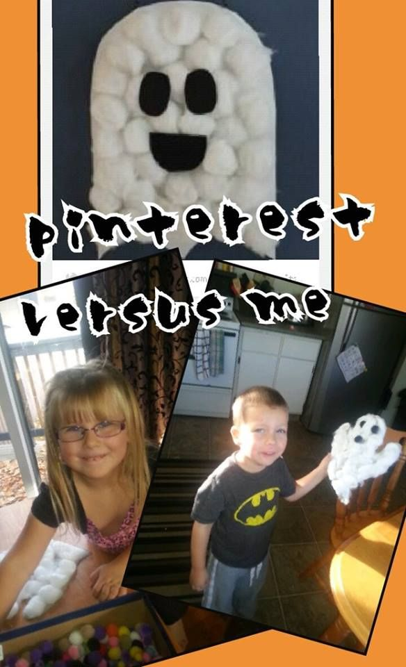 cotton ghosts - nothing fancy just something fun to put us into the Halloween spirit! great for practicing cutting and gluing. linked to site i used for inspiration