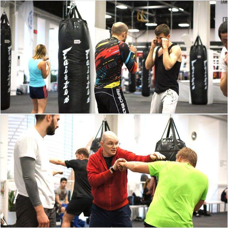 Тренировки боксёров-любителей часто происходят в группах. В начале тренировки спортсмены разминаются. По указанию тренера может проводиться: отработка техники нанесения ударов, боевых комбинаций, спарринг, отработка техники в парах или упражнения на снарядах (боксёрский мешок, груша). Практикуется большое количество упражнений на специальную физическую подготовку: упражнения со скакалкой, набивным мячом, гирей, грифом от штанги, на турнике, брусьях.  Бокс с Даниилом Мягковым - Чемпионом…