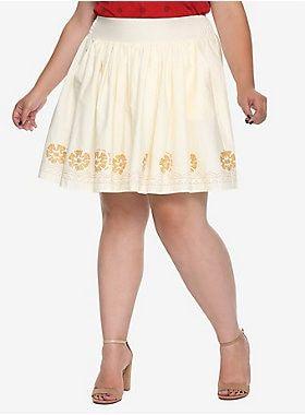 ae664996c Her Universe Destination Disney Moana Border Print Skirt Plus Size ...