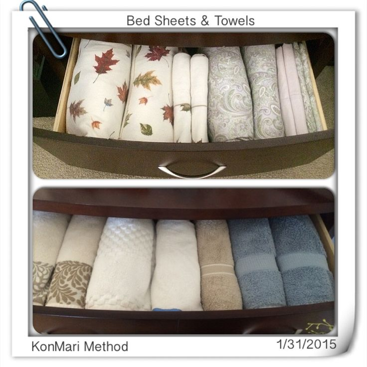 KonMari Method - Beddings & Towels