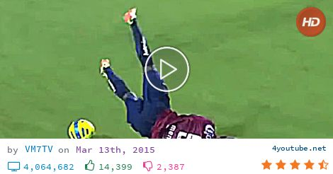 Comedy Football 2015 (bloopers, skills fail, own goals, worst dives, & funny interviews) (12.2 MB) - Video Download | Download From Youtube - Have fun seeing the funniest moments of the season 2014/15! - download and convert youtube video to mp3