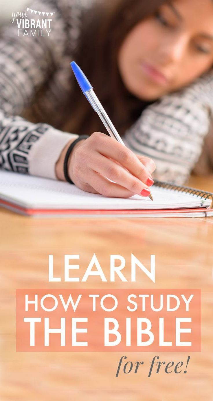 This simple Bible study method is perfect for Bible study lessons for women! Grow spiritually and learn the best way to study the Bible! Plus get a free Bible study bookmark!