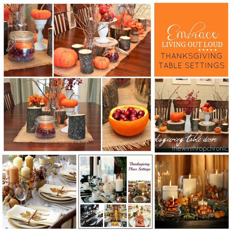 9 best color inspiration holidays images on pinterest for Table 52 thanksgiving