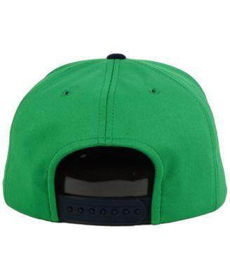 Top of the World Notre Dame Fighting Irish Sun Breaker Snapback Cap - Green Adjustable