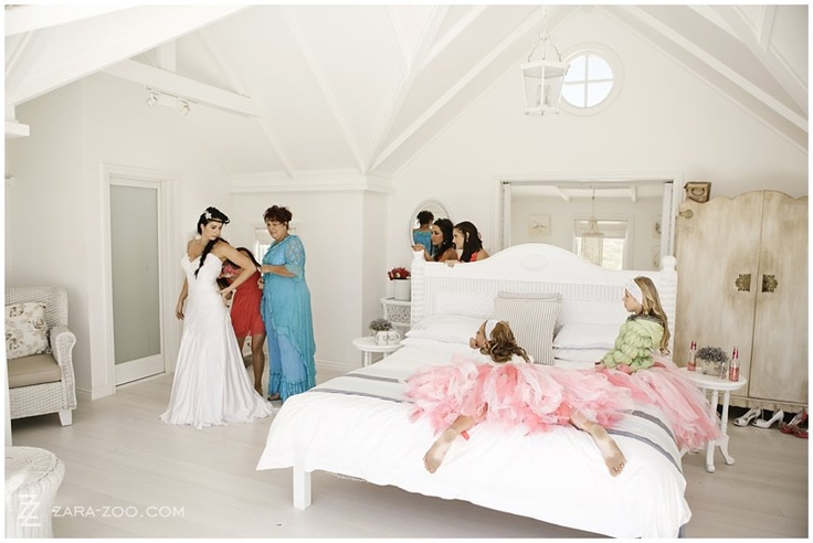 #Beach #Wedding #Venue in Yzerfontein.  The White House in Pearl Bay is the ideal intimate beach wedding venue. The whole of the top floor is the master bedroom, making it the most amazing preparations venue with unspoilt views of the dunes and sea to the front. See more of this wedding on the ZaraZoo blog - http://www.zara-zoo.com/blog/wedding-photos-in-yzerfontein-white-house