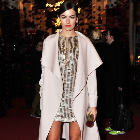 Camilla Belle hit the town last night to attend Salvatore Ferragamo's London