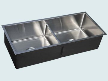 Custom Stainless Steel Kitchen Sinks # 4749