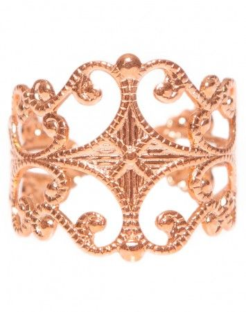 Popetto Fine Carousel ring in rose gold