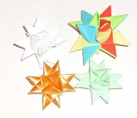 Flätad pappersstjärna