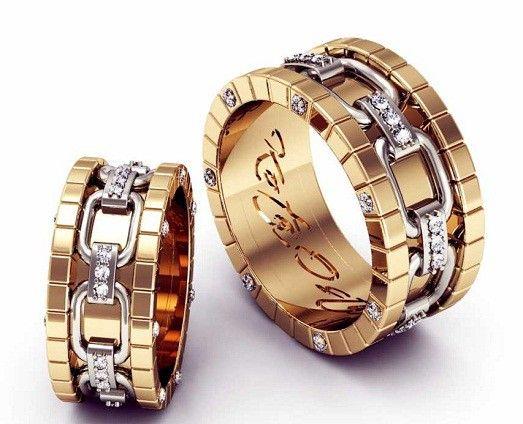 8 фото необычных обручальных колец   ring   Rings, Jewelry и Wedding b6007865cf4