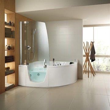 Badekar 383 og dusj i ett. Made in Italy by Teuco