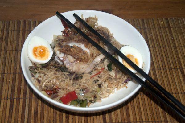 Thaise Noedels Met Kip   Goed En Gezond Eten