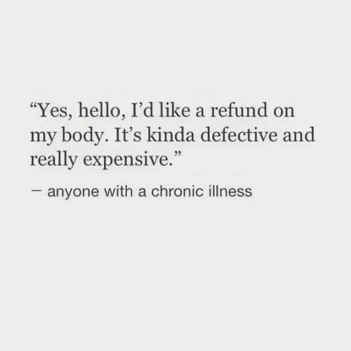 Or for anyone who is sick all the flipping time! I have upper respiratory infections/sinus infections every couple weeks