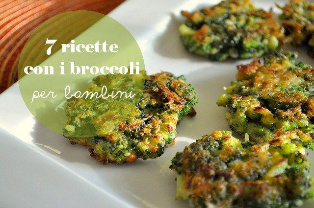 7 ricette con i broccoli per bambini