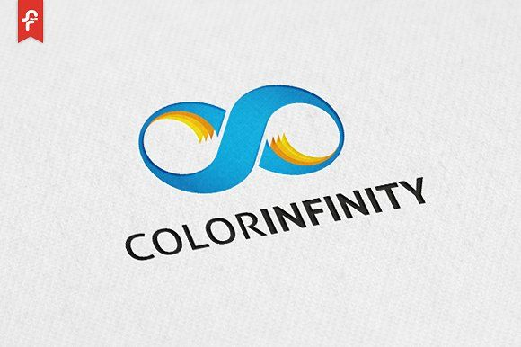 Color Infinity Logo by ft.studio on @creativemarket