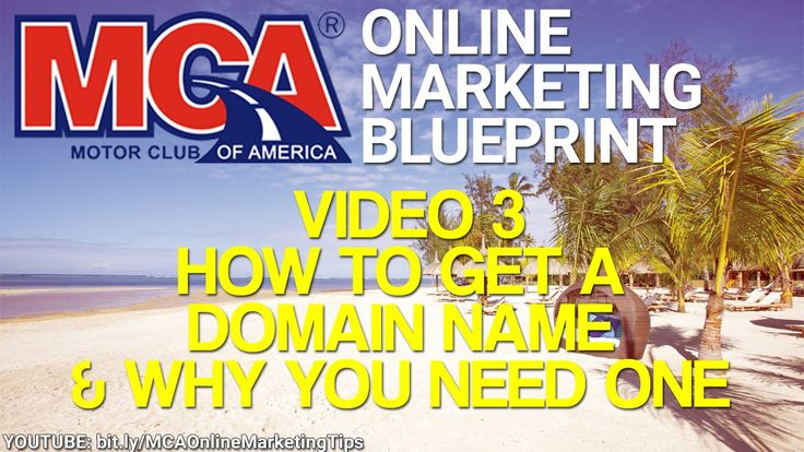 MCA Online Marketing Blueprint 3 - Domain Names - Why You Need One For Your MCA Business -- http://www.YourWay4Success.com -- MCA Online Marketing Blueprint 3 - Domain Names - Why You Need One For Your MCA Business  Get your MCA membership here: http://www.ThisCarClubPays.com  Improve your MCA online marketing skills & get a deep & comprehensive understanding of internet marketing here: http://www.YourWay4Success.com  This MCA Online Marketing Blueprint video covers domain names. You'll…