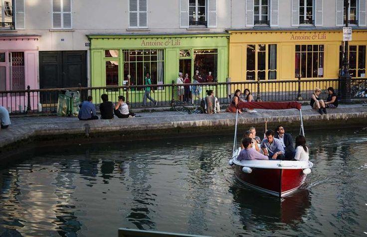 Bootje huren in Parijs