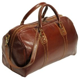 Leather travel bag, would also settle for an Anne of Green Gables carpet bag