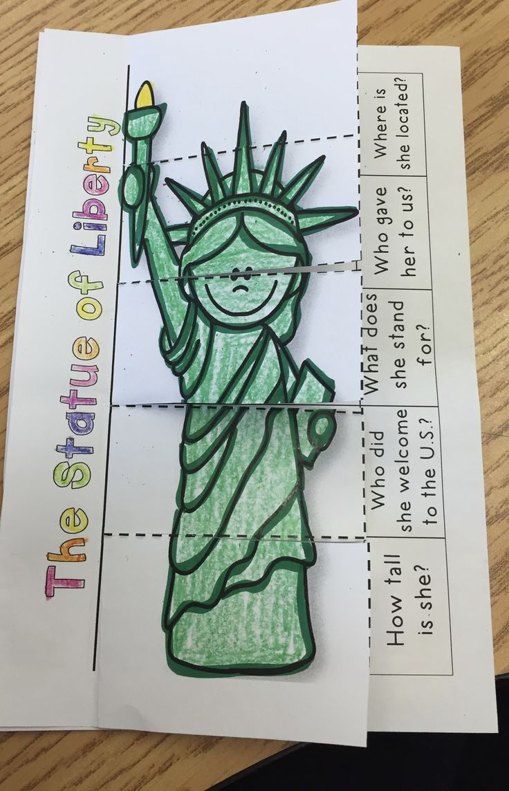This is a great resource to teach your students about the Statue of Liberty. Included in this download is a mini reader and great activity to make learning about the Statue of Liberty come alive!