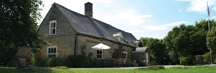 The King's Head in Bledington is an excellent Cotswold pub for family lunches.  There's a great village green with swings and a stream with ducks in that the children love.