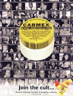Me encanta la sensión mentolada del Carmex, mi presentación favorita es el tarrito.