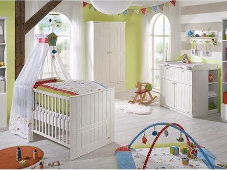 Dreamworld 3 (Babybett 70x140, 2 Türiger Schrank, Wickelkommode) | Products  And Babies Images