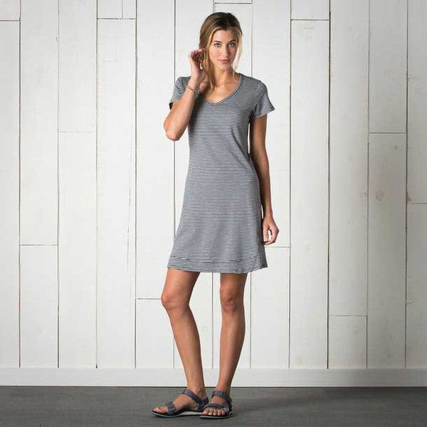 Toad&Co Womens Marley S/S Dress: Part simple, part sublime, and not to be  underestimated! Regular fit is relaxed, but not sloppy, and perfect for any  ...