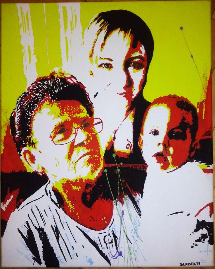 40x50 acrylic, canvas