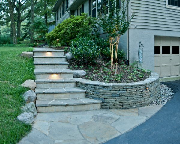 Flagstone Patio Steps Google Search Home Front Porch