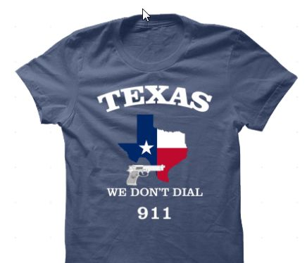 This says it all. Texans tend to take care of their own business. Get this awesome tee on our website.