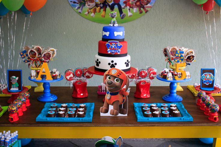 Essa Patrulha Canina conquistou a criançada! Confira essas dicas para não errar na hora de decorar a festa infantil do seu filho com esse tema!