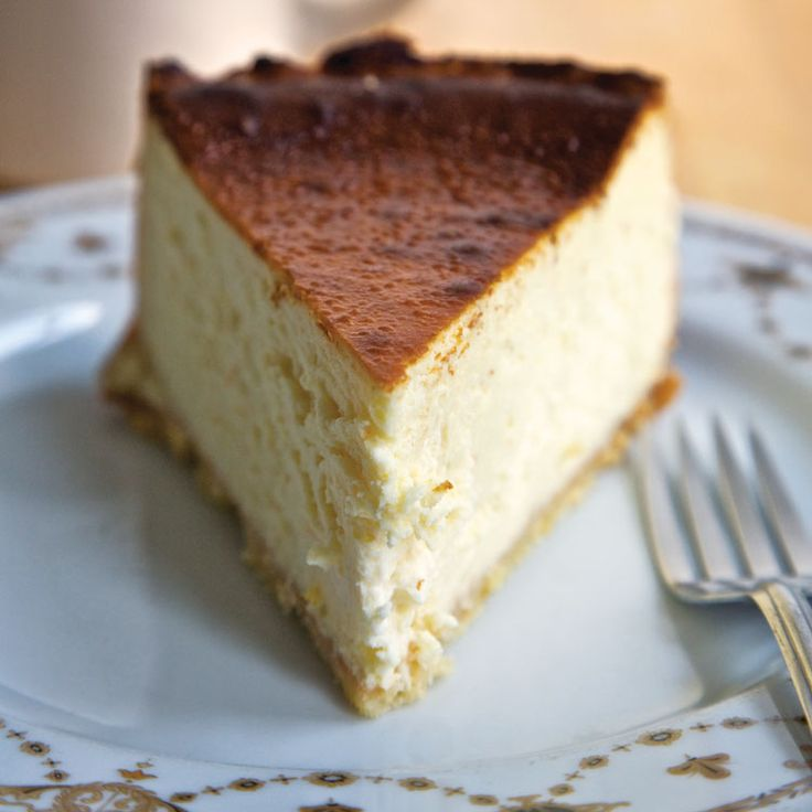 This cheesecake recipe, originally from Lindy's deli, is our favorite New York-style cheesecake