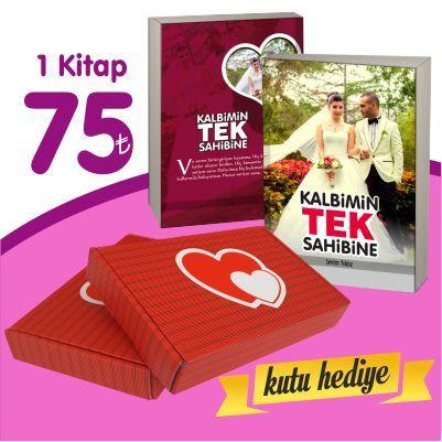 Sevgiliye Kitap 1 Adet + Kutu